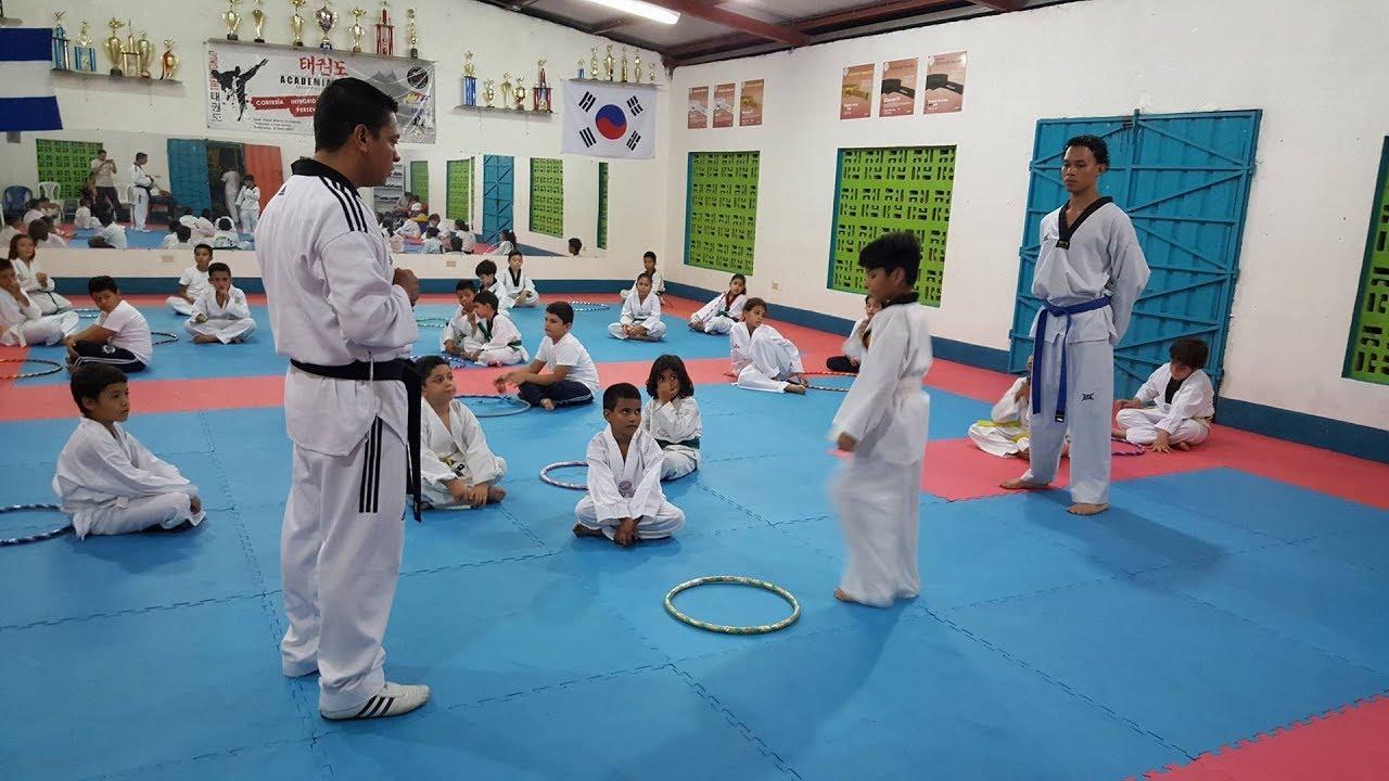 Ejercicios De Psicomotricidad Para Niños De Taekwondo Youtube