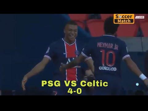 Download Neymar Jr Angry 😤 PSG VS Celtic 4-0 all Goals & highlights HD