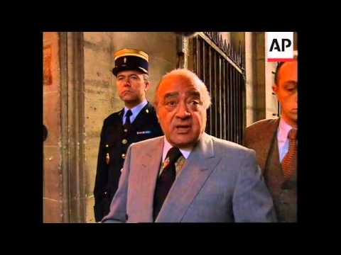 FRANCE: AL FAYED WANTS TO SPEAK TO DIANA JUDGE