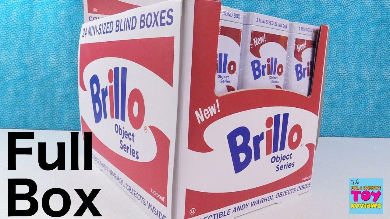 Kidrobot Andy Warhol Brillo Box Object Art Series Shoe