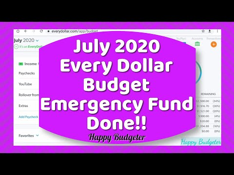 July Zero Based Budget | Happy Budgeter from YouTube · Duration:  20 minutes