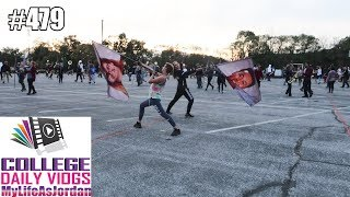 MARCHING BAND REHEARSAL BEFORE USBANDS | Daily Vlog #479