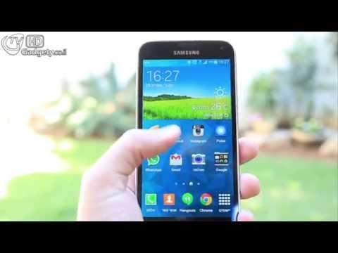 Samsung Galaxy S5 סקירה מלאה