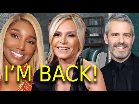 Breaking News Bravo rehires Tamra Judge RHOC! Is RHOA Nene Leakes still out + Andy Cohen Housewives