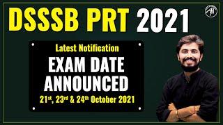 Dsssb Prt Exam Date Announced 😳😳😳
