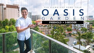 $1.65M Can Own a Oasis Garden Freehold Singapore Condo And Near To Bartley MRT Station, Sold by PLB