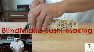 Blindfolded Sushi Making: JB Roll - How To Make Sushi Series