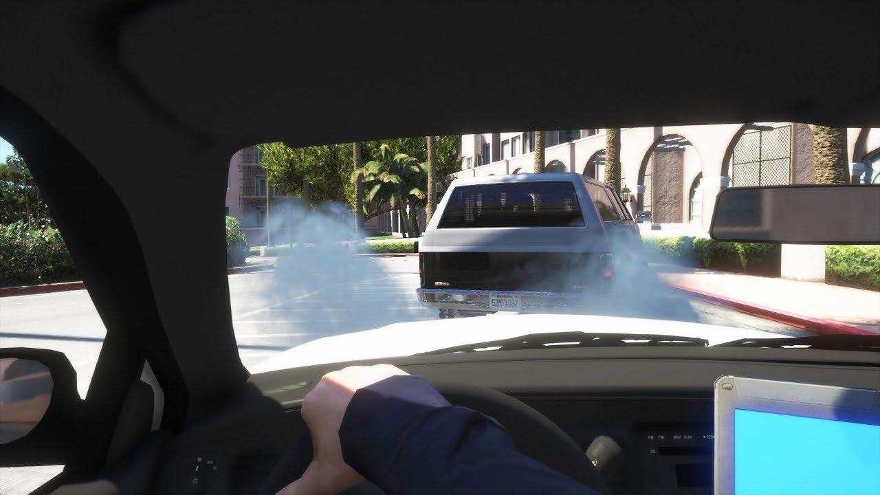 GTA 5 LSPDFR - Day 992 - Dumb Burnout
