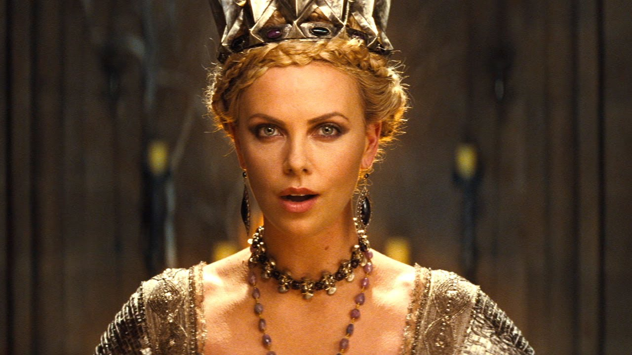 Αποτέλεσμα εικόνας για charlize theron snow white and the huntsman trailer