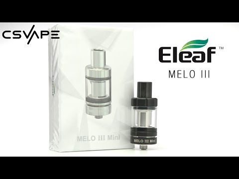 Eleaf Melo III Tank Product Overview