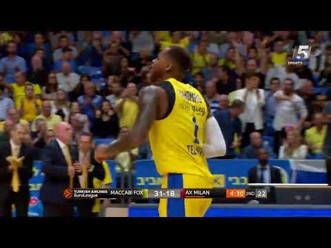 Euroleague Game 5: Maccabi FOX Tel Aviv 79 - Armani Milano 68