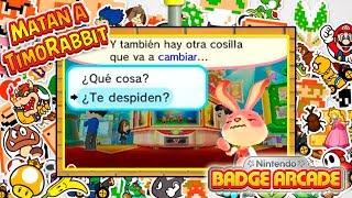 ¡Nintendo despide a TimoRabbit! - Nintendo Badge Arcade