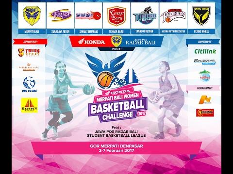 Merpati Bali Women Basketball Challenge 2017: Merpati Bali vs Merah Putih Predators (05/02/2017)