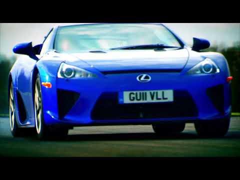 Lexus RC F и Lexus LFA на треки - Топ Гир на русском (часть 2)