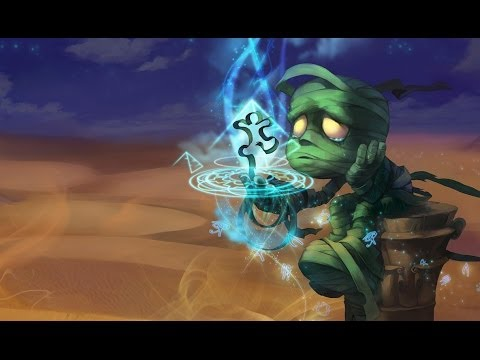 League of Legends Ultra Rapid Fire/U.R.F - Amumu - Full Game With  Jakesternater