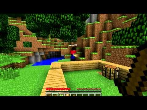 Minecraft CO-OP Let's Play День 1 ч.1
