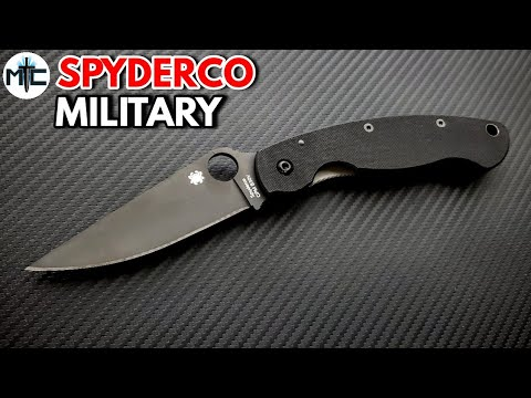 Spyderco Military Folding Knife – Overview and Review
