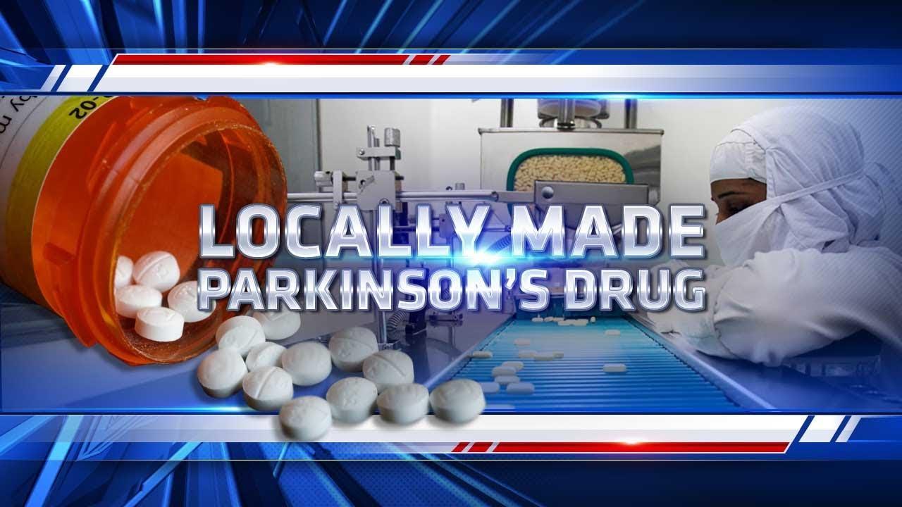 San Diego drug maker producer first FDA approved Parkinson's