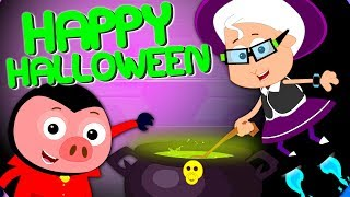It's Halloween Night Scary Nursery Rhymes | Halloween Songs For Children & Kids By Bud Bud Buddies