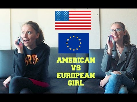 American vs european girls