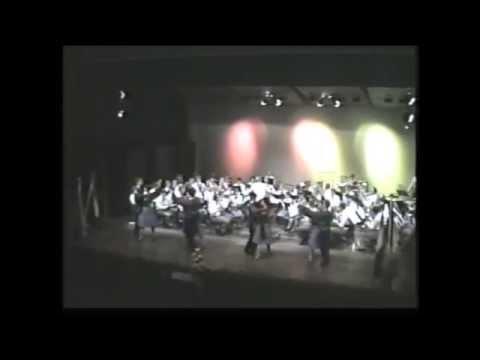 Latin met Stedelijk Muziekkorps Amacitia theater 1983 2