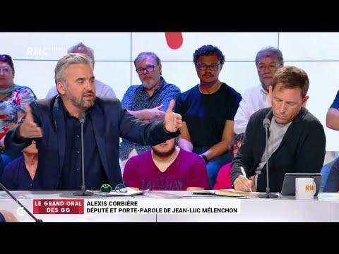 """Les """"Grandes Gueules"""" de RMC: Alexis Corbière était l'invité du """"Grand Oral"""""""