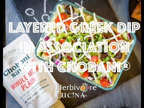 Layered Greek Dip