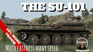 World Of Tanks Blitz   Su 101   Dash and Smash The fast moving Monster of Moscow