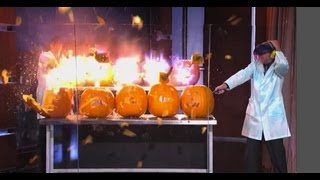 Exploding Pumpkins on Jimmy Kimmel Live