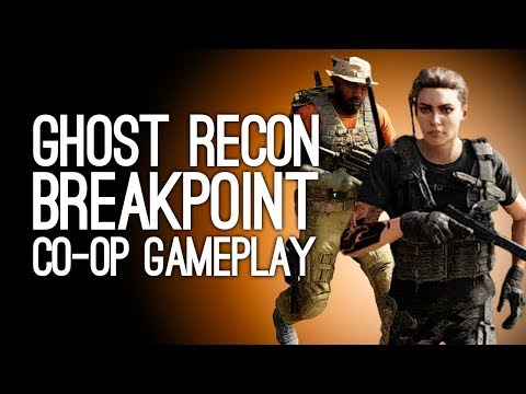 Ghost Recon Breakpoint Co-op Gameplay: Ghost Recon Break-Legs - I'M COMING TO SAVE YOU, MIKE! OWW!