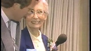 Dave's Mom's First On-Air on Late Night, February 25, 1986