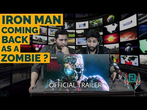 MARVEL ZOMBIES Trailer | Disney+ HD | Robert Downey Jr.| Tom Holland |Reaction by 2wings