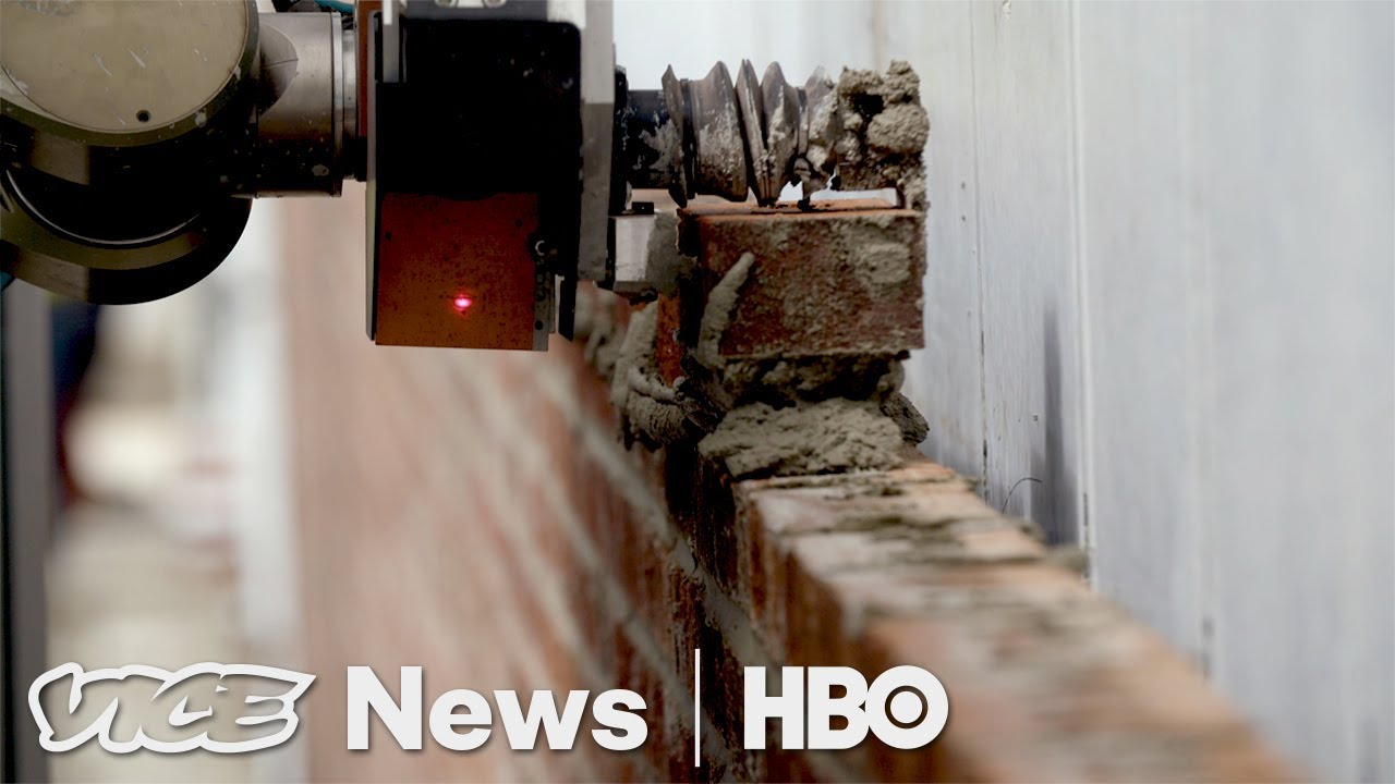 This Bricklaying Robot Can Build Walls Faster Than Humans Hbo Lister Starter Motor Wiring Diagram