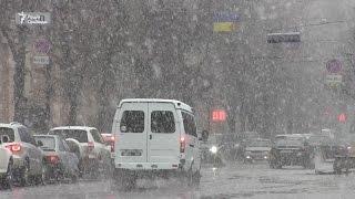 У Харкові випав сніг