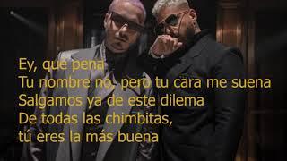 Maluma and J Balvin-Que Pene ( lyrics-letra)