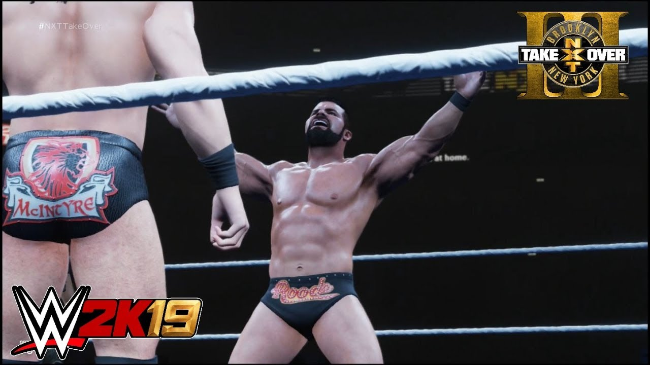 Download WWE 2K19 - Bobby Roode vs. Drew McIntyre: NXT Championship   NXT Takeover Brooklyn III