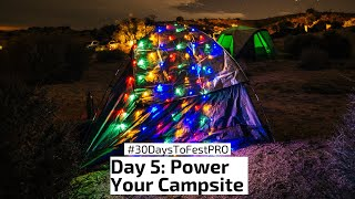 Festival Tip 5: Power Your Campsite