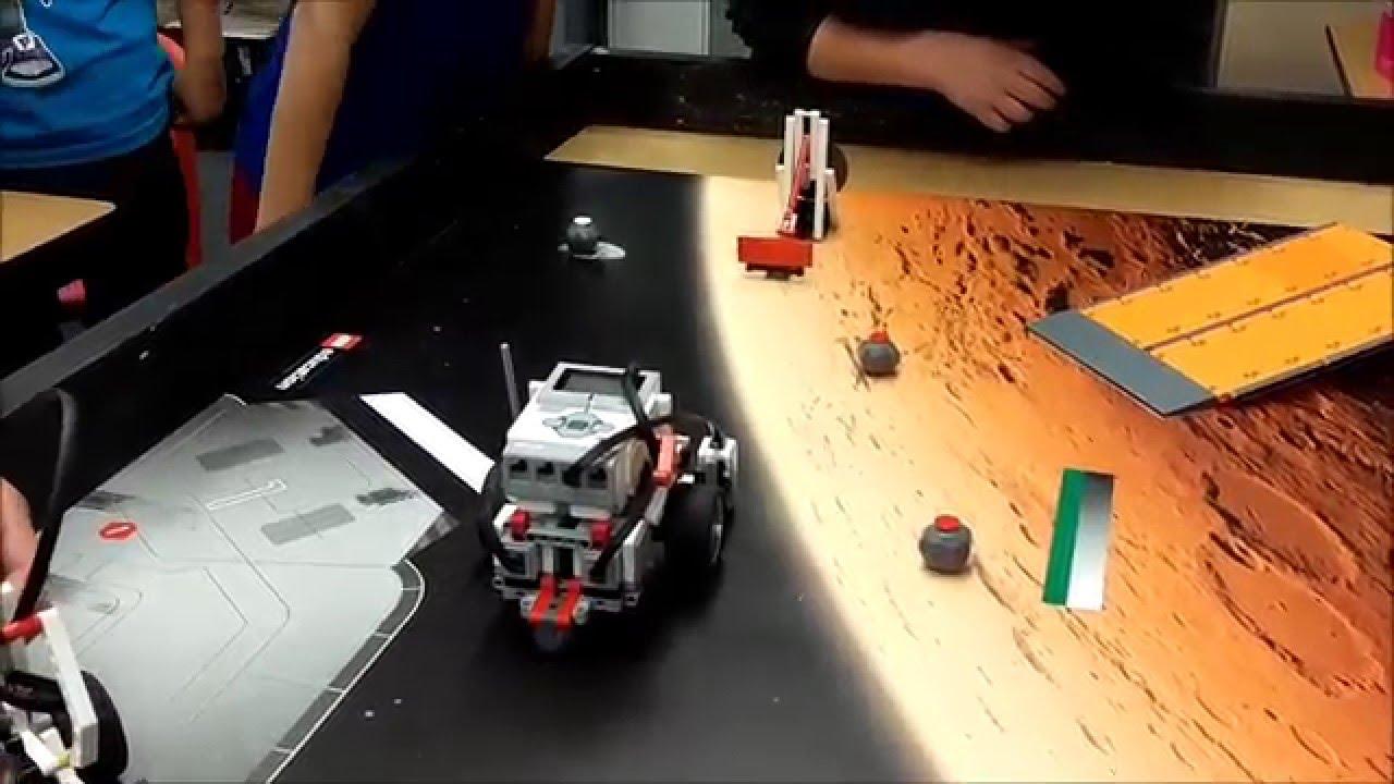 """LEGO EV3 Space Challenge: Activate Communcations"" - YouTube"