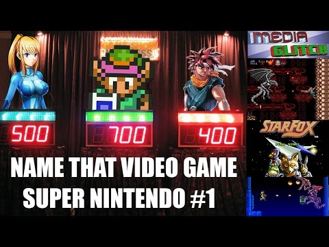 NAME THAT VIDEO GAME SNES EDITION #1