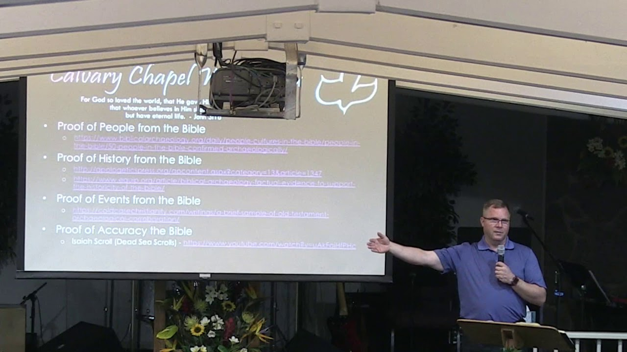 15 May 2019 | CCWO Midweek study in 'Church History 2' | Pastor Dan Jacobson
