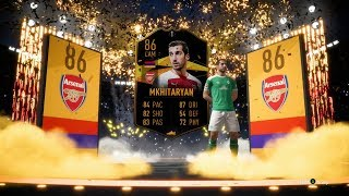 EUROPA LEAGUE HENRIKH MKHITARYAN COMPLETED!! FIFA 19 ULTIMATE TEAM