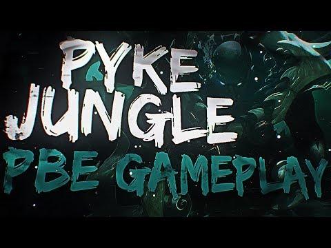 PYKE JUNGLE GAMEPLAY FR PBE - League of Legends Nouveau Champion thumbnail