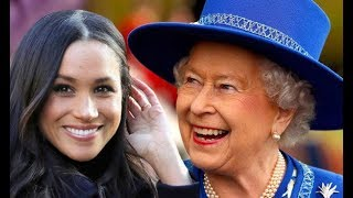 The Queen burst out laughing when she received her first Christmas present from Meghan Markle