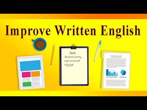 Improve English Writing For Pc - Download For Windows 7,10 and Mac