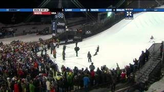 Winter X Games 15 - Shaun White Gold Medal Snowboard SuperPipe