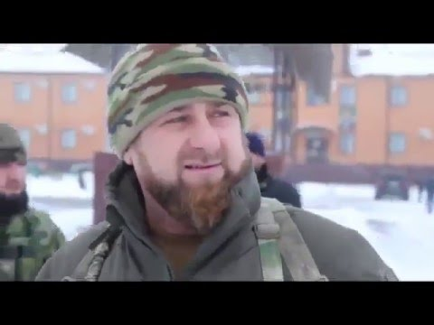 "Ramzan Kadyrov With Tchtchen Special Forces "" Терек """