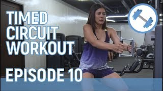 Fitness: Timed Circuit Workout // Alice Dixson