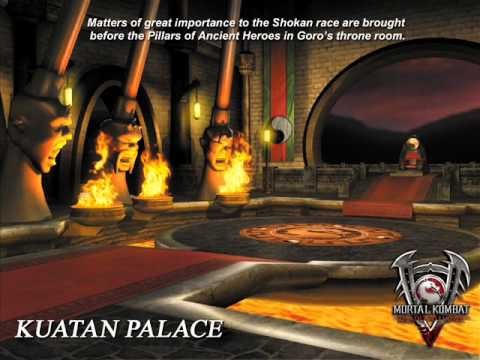Mortal Kombat Deadly Alliance  Kuatan Palace