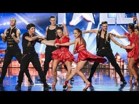 Britains Got Talent S08E03 Kings and Queens Latin Dance Troupe