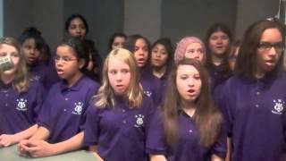 arlington middle school select chorus holiday concert series